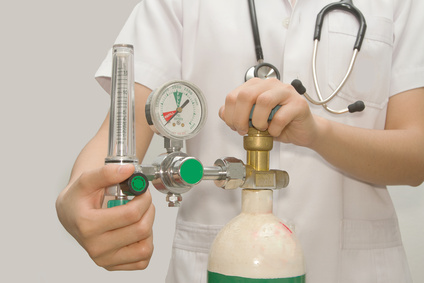 How to use a Medical Oxygen gas cylinder